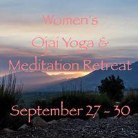 Womens Ojai Yoga and Meditation Retreat