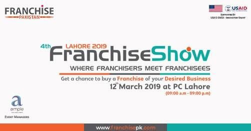 4th Franchise Show (Expo) Lahore 2019