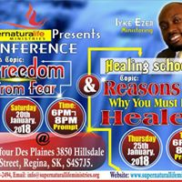 Freedom From Fear and You must be Healed