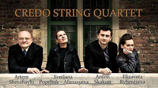 Concert Kamermuziek Credo String Quartet