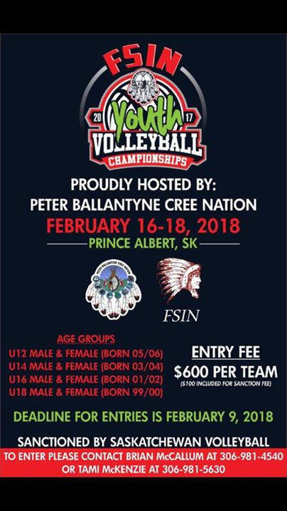 FSIN Youth Volleyball Championships