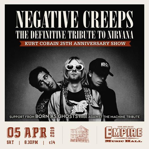 Nirvana Tribute-Negative Creeps with Born as ghosts RATM tribute