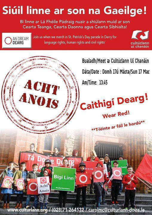Parid ar son na Gaeilge - L Fhile Pdraig