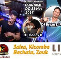 23 Nov 2017 Latin Night Libre DJ Johnny B en DJ El Rakim