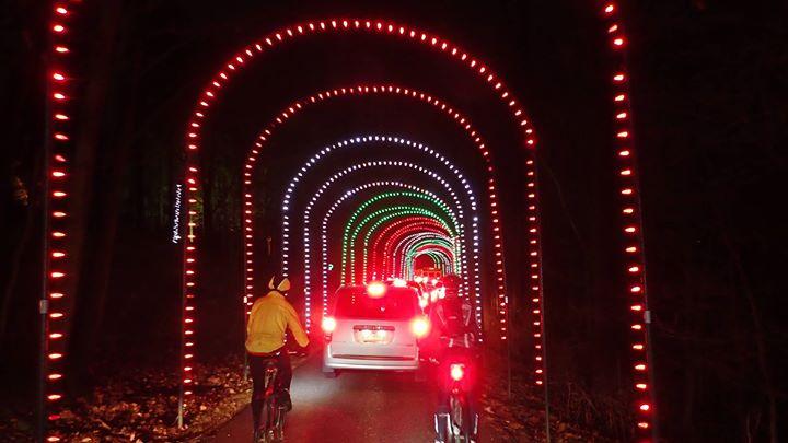 10th annual oglebay christmas lights bicycle ride at ye olde alpha wheeling - Oglebay Park Christmas Lights