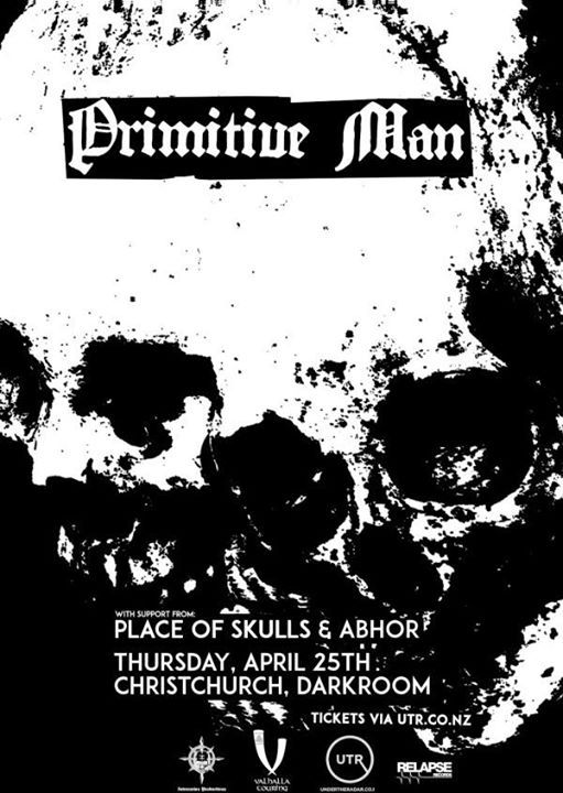 Primitive Man - Christchurch