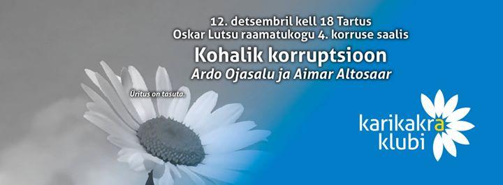 Kohalik korruptsioon at Tartu Oskar Lutsu nimeline