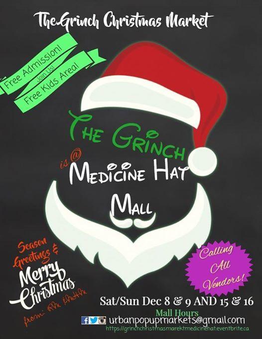 The Grinch Christmas Market Medicine Hat