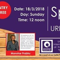 Spiritual Sundays at Urban Solace - A Touch of The Master