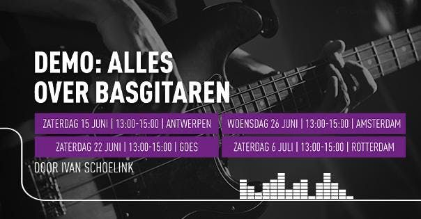 Demo Alles over basgitaren