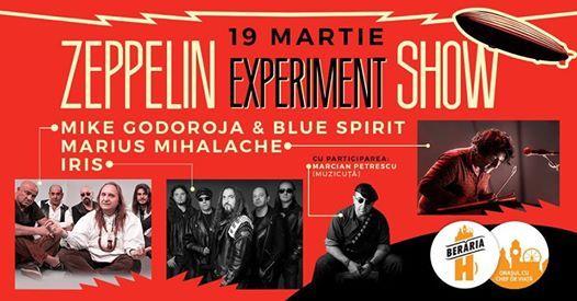 Mike Godoroja Marius Mihalache IRIS  Zeppelin Experiment Show