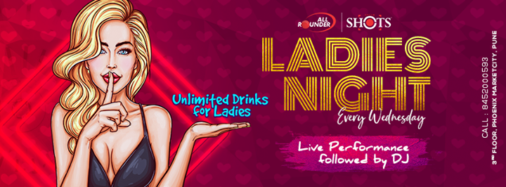 Ladies Night Wednesday