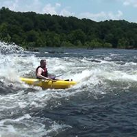 Kayak down the Coosa River