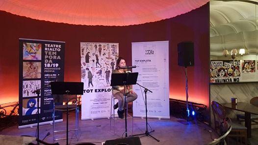Poesia habita Caf Rialto amb Estela Martinez i Jordi Ballester
