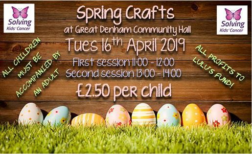 Spring Crafts - Book Tickets