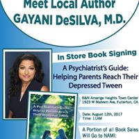 Meet the Author Gayani DeSilva  Barnes and Noble Fullerton