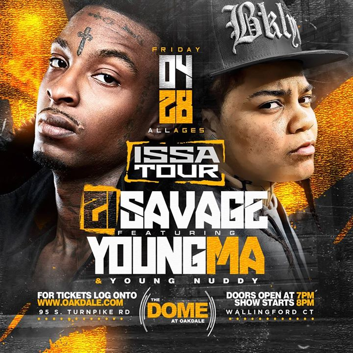 Savage Issa Tour April