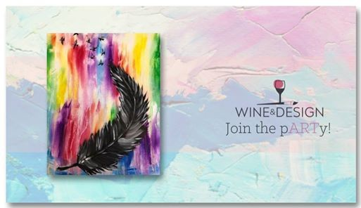 Sip Paint Fly Away At Wine Design Wake Forest Nc Carolina