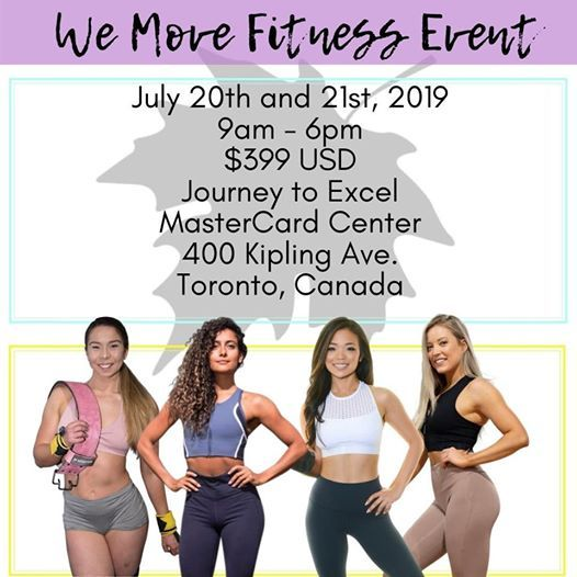 We Move Fitness Event