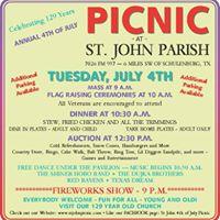 Picnic at St. John Parish