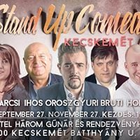 Stand up comedy Roadshow vacsorval Kecskemten