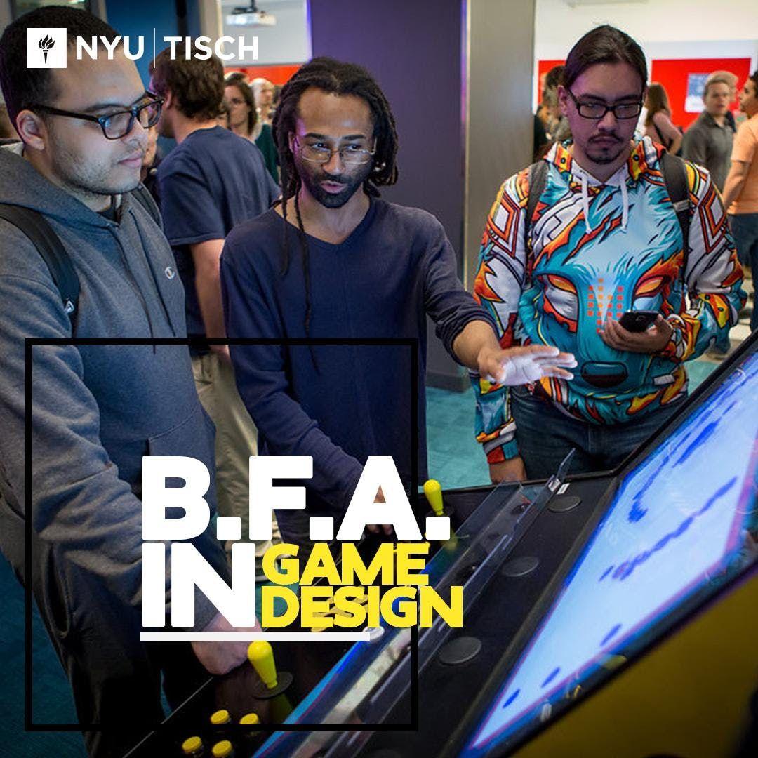NYU Game Center BFA Info Session 2018-2019