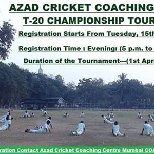 ACCC Mumbai T-20 Championship Tournament 2019