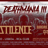 Pestilence(hol) Sacred Sin Pestifer - deathmania Portugal 3