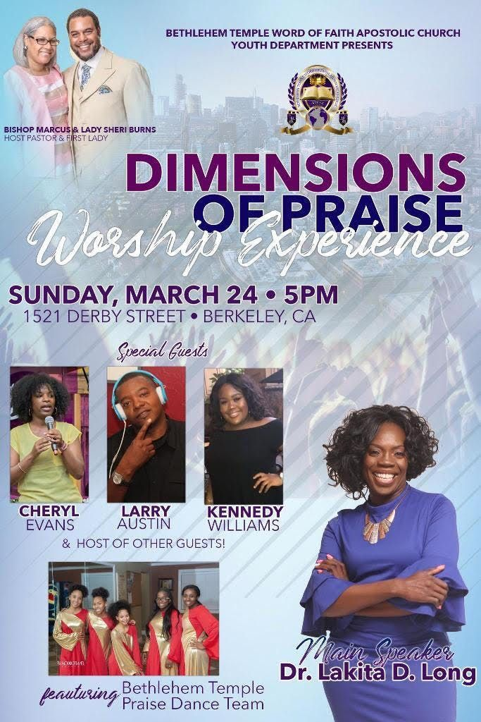 Dimension of Praise Worship Experience