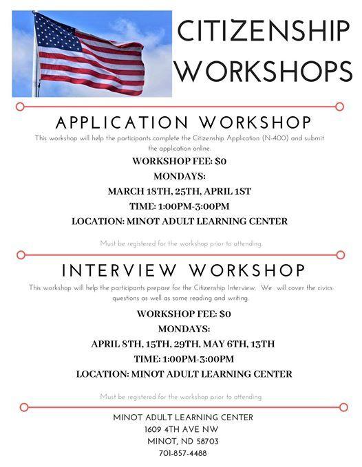 Citizenship Application Workshop