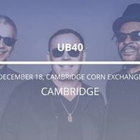 UB40 in Cambridge
