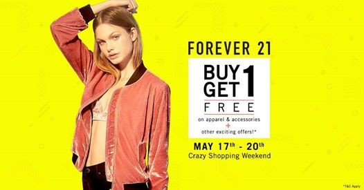 Forever 21 X Ahmedabad  Crazy Shopping Weekend