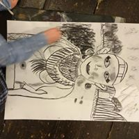 Childrens Charcoal Drawing Workshop with Artist Zoe Parker