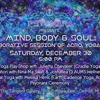 Mind Body &amp Soul A Collaborative Session of Acro Yoga &amp Sound