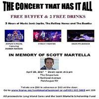 Scott Martella Memorial concert..
