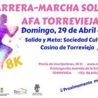 V Carrera-marcha solidaria AFA Torrevieja 2018.