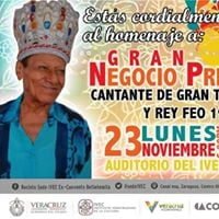HOMENAJE AL GRAN NEGOCIO I - Msico veracruzano y Ex Rey del Carnaval de Veracruz (1978)