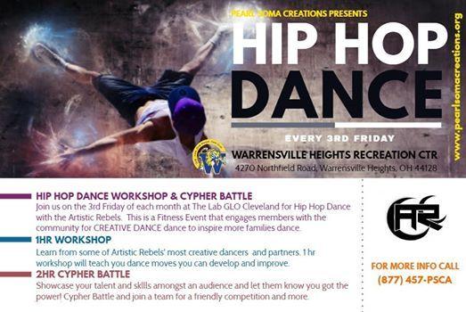 Hip Hop Dance Workshop & Battle Cypher