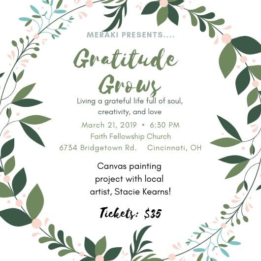 Merakis Gratitude Grows Event