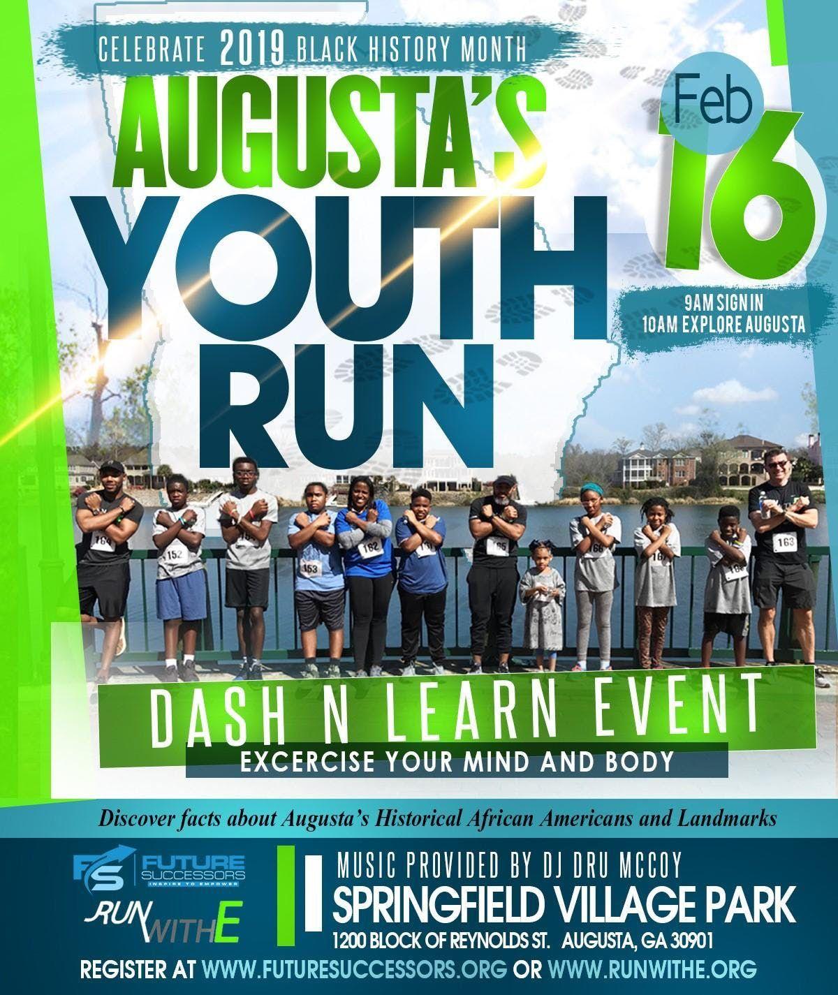 Dash N Learn Black History Youth Run