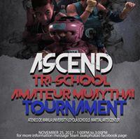 Ascend Tri-school Amateur Muaythai Tournament