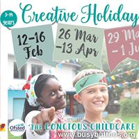 Busy Buttons Creative Camps- Windsor- Feb Half Term