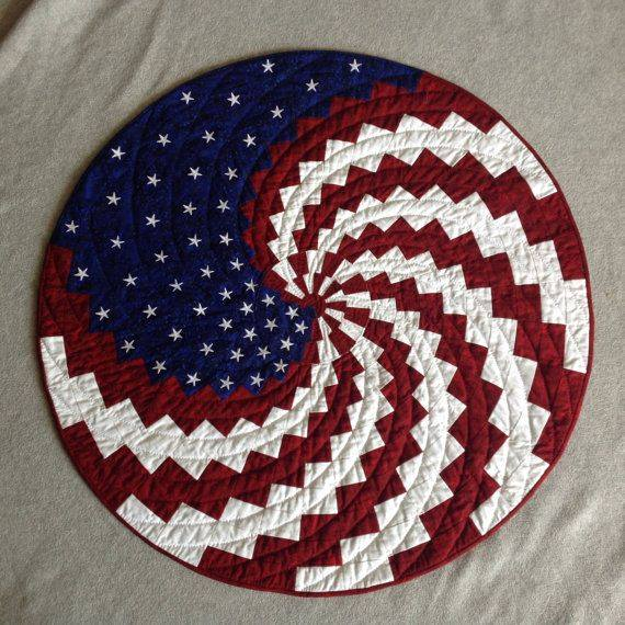New Spin On Old Glory At Quilt N Bee Cache