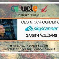 CEO and Co-Founder of Skyscanner Gareth Williams