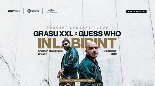Grasu XXL x Guess Who - Lansare n Labirint  9 februarie