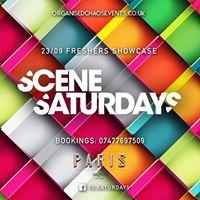 Scene Freshers Showcase - Saturdays at Paris