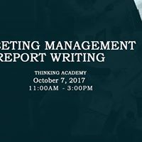 Meeting Management &amp Report Writing