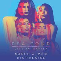 PSA Tour Fifth Harmony Live in Manila 2018