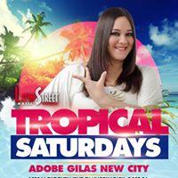 Tropical Saturdays Vanessa &amp AndresB-Days &ampLive music 4 dinner