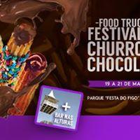 1 Festival do Churros e Chocolate de Valinhos - Entrada Gratis